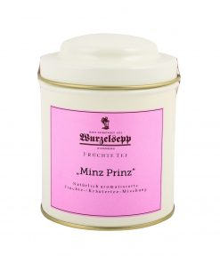 Wurzelsepp Fruechte Tee Minz Prinz Dose