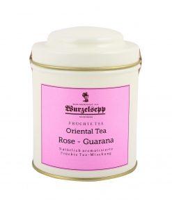 Wurzelsepp Fruechte Tee Oriental Tea Rose Guarana Dose