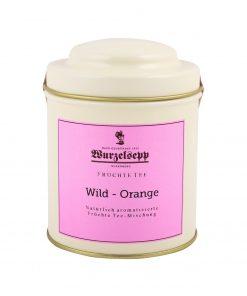 Wurzelsepp Fruechte Tee Wild Orange Dose