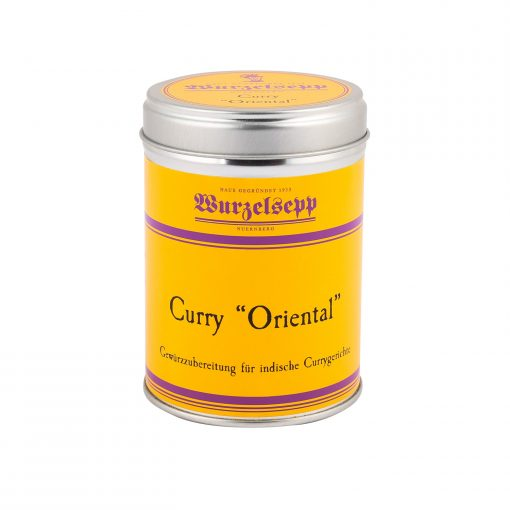 Wurzelsepp Gewuerz Curry Oriental Dose