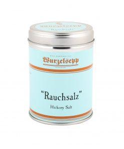 Wurzelsepp Gewuerz Rauchsalz Hickory Salt Dose