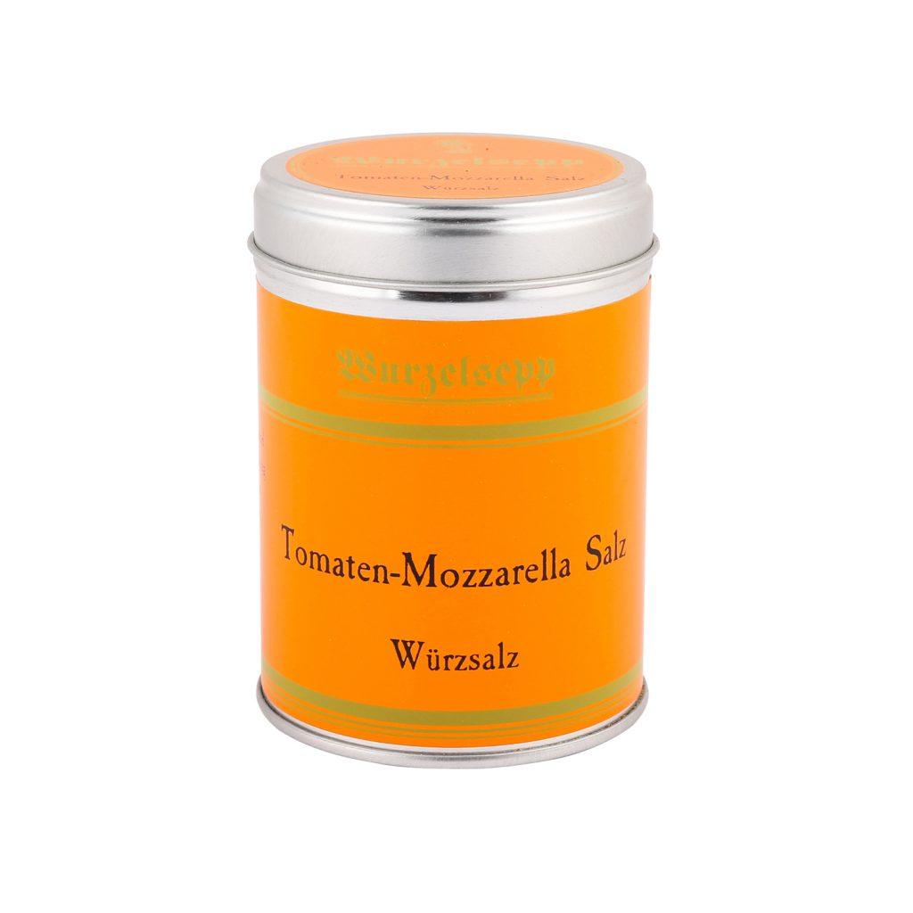 Wurzelsepp Gewuerz Tomaten Mozzarella Salz Dose