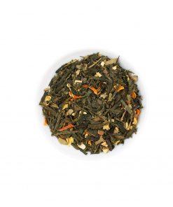 Wurzelsepp Gruentee Gewuerzmischung Tee Ingwer Limette Bio Lose