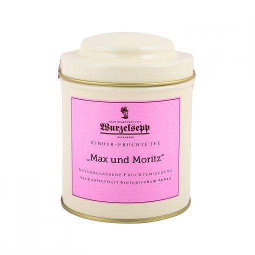 Wurzelsepp Kinder Fruechtetee Max und Moritz Dose