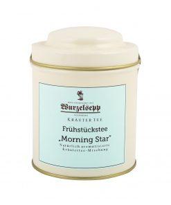 Wurzelsepp-Kraeutertee-Fruehstueckstee-Morning Star-Dose