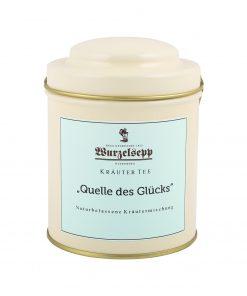 Wurzelsepp Kräuter Tee Quelle Des Gluecks Dose