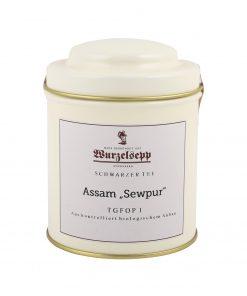 Wurzelsepp Schwarzer Tee Assam Sewpur TGFOP 1 Dose