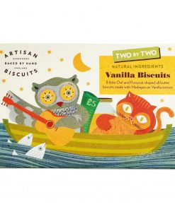 Artisan Biscuits Two by Two Vanilla Biscuits Butterkekse mit Vanille Packung Wurzelsepp v8841a 12