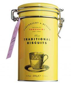 Cartwright and Butler Biscuits mit drei verschiedenen Schokoladensorten Dose Wurzelsepp v8369 003 14