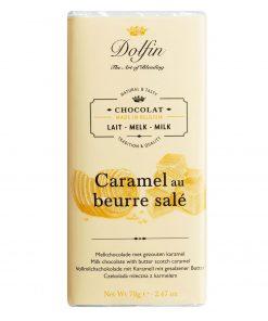 Dolfin Vollmilchschokolade mit Karamell und gesalzener Butter Wurzelsepp v6558 134 14