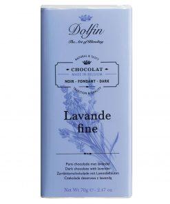 Dolfin Zartbitterschokolade mit Lavendel und Vanille Wurzelsepp v6569 134 14