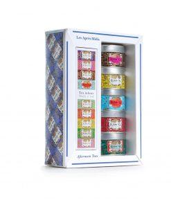 Kusmi Tea Nachmittagstees Geschenkset mit 5 Miniaturdosen à 25 g