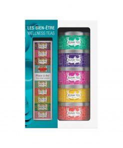 Kusmi Tea Wellness Tees Geschenkset Wurzelsepp