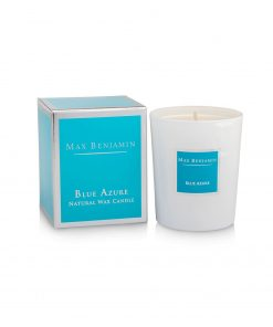 Max Benjamin Classic Collection Blue Azure Candle with box wurzelsepp