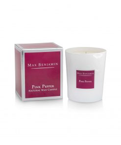 Max Benjamin Classic Collection Pink Pepper Candle and Box wurzelsepp