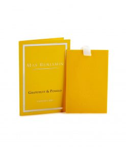 Max Benjamin Classic Collection Grapefruit & Pomelo Scented Card wurzelsepp