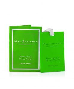 Max Benjamin Classic Collection Bergamot & Ylang Ylang Scented Card wurzelsepp