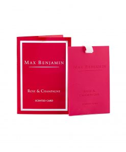 Max Benjamin Classic Collection Rose & Champagne Card wurzelsepp