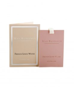 Max Benjamin Classic Collection French Linen Water Scented Card wurzelsepp