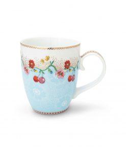 PIP Studio Floral Tasse Cherry blau Wurzelsepp