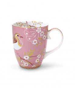 PIP Studio Floral Tasse Early bird rosa Wurzelsepp