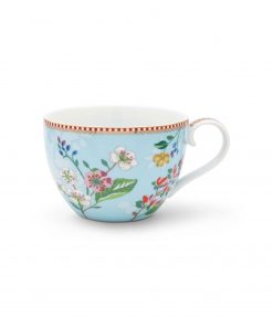 PIP Studio Floral Tasse XL Hummingbirds blau Wurzelsepp