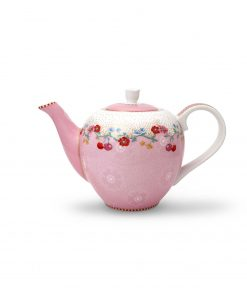 PIP Studio Floral Teekanne small Cherry rosa Wurzelsepp