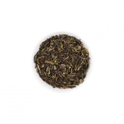 Wurzelsepp Gruener Tee China Sencha entkoffeiniert lose
