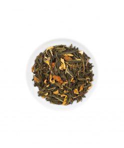 Wurzelsepp Gruener Tee Sencha Orange Ingwer Lose