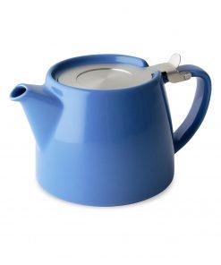 FORLIFE Théière Stump 0,55L bleue avec filtre Wurzelsepp 309BLU