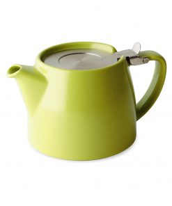 FORLIFE Théière Stump 0,55L vert citron avec filtre Wurzelsepp 309LME