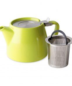 FORLIFE Théière Stump 0,55L vert citron avec filtre infuser Wurzelsepp 309LME