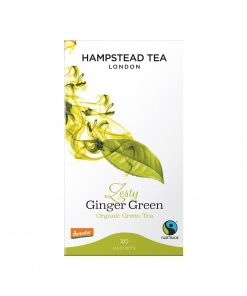 Hampstead Tea Zesty Ginger Green Tea Wurzelsepp 7258