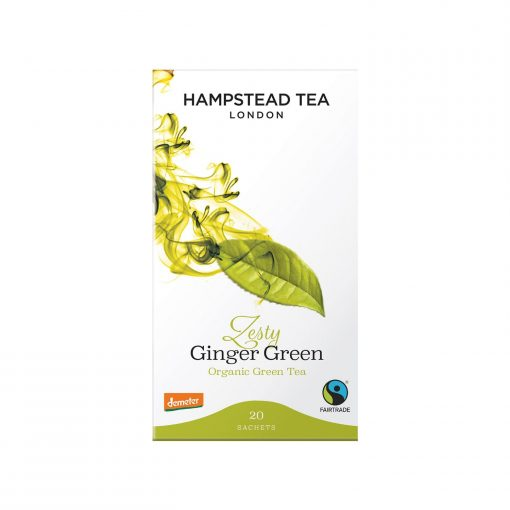 Hampstead Tea Zesty Ginger Green Tea Wurzelsepp 7258