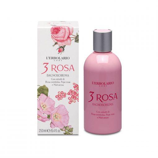 L'ERBOLARIO 3 ROSA Bade- und Duschgel Wurzelsepp