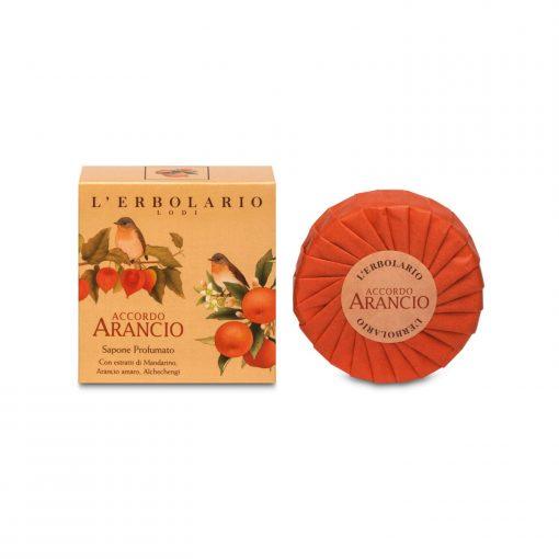 L'ERBOLARIO ACCORDO ARANCIO Parfümseife Wurzelsepp