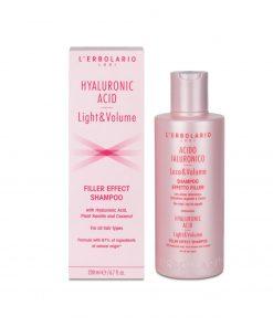 L'Erbolario hyaluronic acid filler effect shampoo wurzelsepp