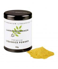 Lakritsfabriken Swedish Premium Liquorice Powder Lakritz Pulver Wurzelsepp 5107
