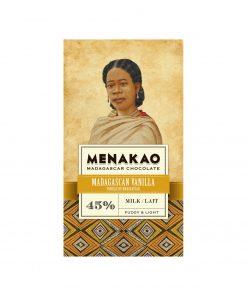 Menakao Milchschokolade mit Vanille aus Madagaskar Wurzelsepp 5739