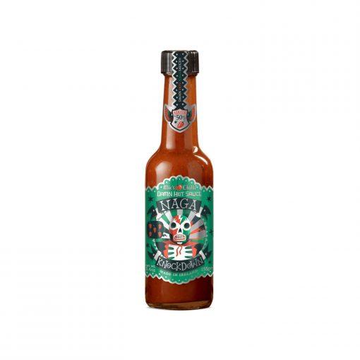 Mic's Chilli Damn Hot Sauce Naga Knockdown Wurzelsepp