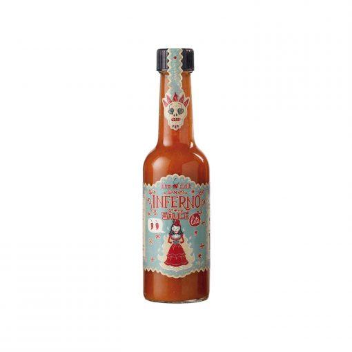 Mic's Chilli Inferno Sauce Lite Wurzelsepp 1382