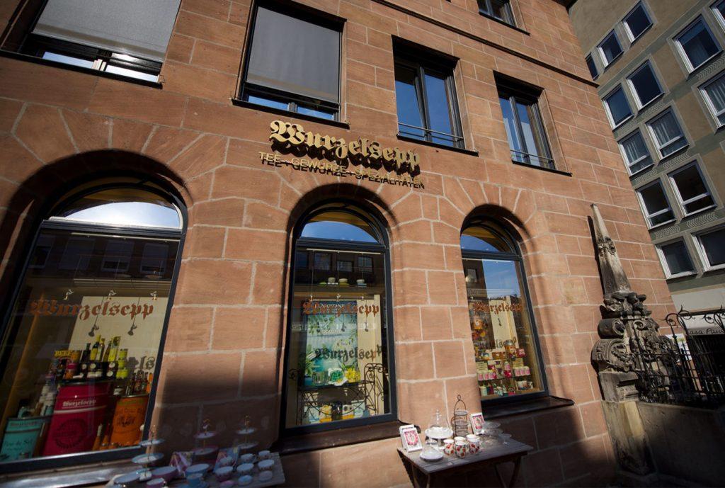 Kräuterhaus Wurzelsepp Hauptmarkt Nürnberg