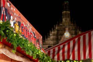 Wurzelsepp Weihnachten Stand Christkindllesmarkt Nürnberg Hauptmarkt
