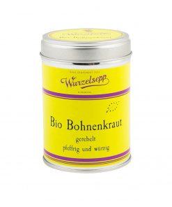 Wurzelsepp Gewuerz Bohnenkraut gerebelt BIO Dose