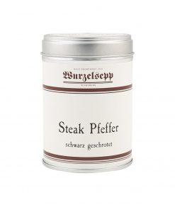 Wurzelsepp Gewuerz Pfeffer Steak Pfeffer schwarz geschrotet Dose