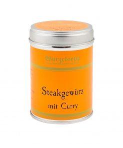 Wurzelsepp Gewuerz Steakgewuerz mit Curry Dose
