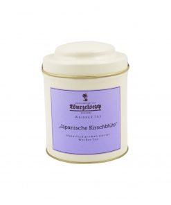 Wurzelsepp Weisser Tee Japanische Kirschbluete Dose