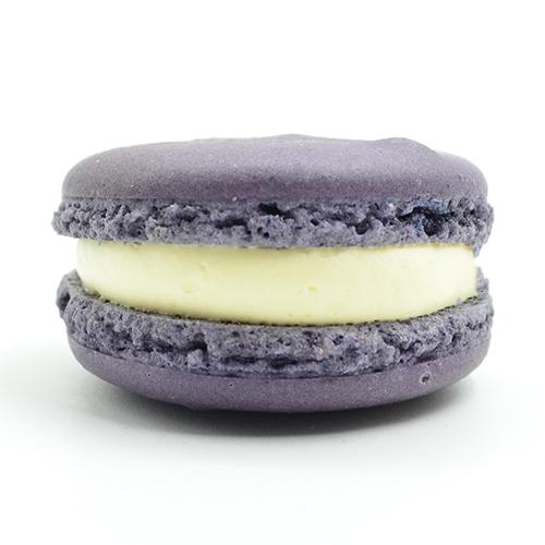 Cassiscreme Macarons