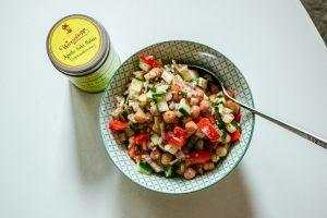 Kicherebsen-Salat Rezept Wurzelsepp