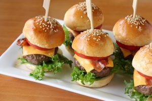 Mini-Burger zum EM-Finale Rezept